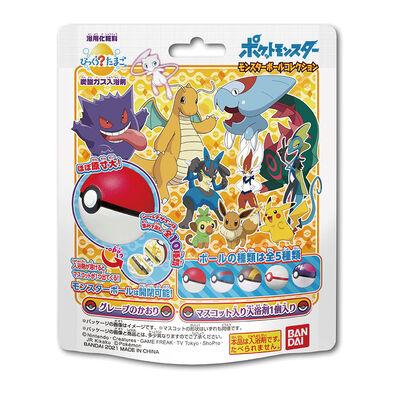 Bandai Pokemon寶可夢精靈球入浴球Ⅴ(泡澡球)- 隨機發貨