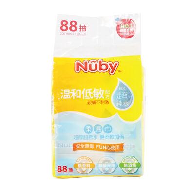 Nuby超純水柔濕巾(88抽)/3包