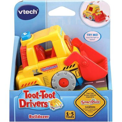 Vtech 嘟嘟聲光互動車-堆土機