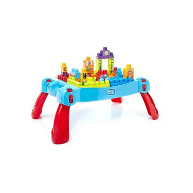 Mega Bloks Build 'N Learn Table - Classic