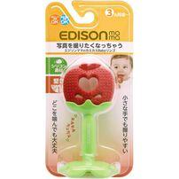 Edison Mama KJC嬰幼兒趣味蘋果潔牙器
