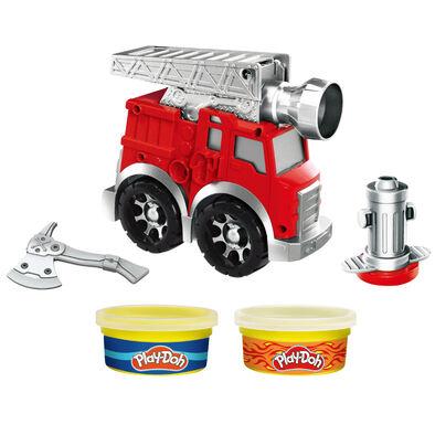 Play-Doh培樂多 車輪系列 消防車遊戲組