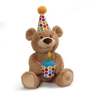 Gund岡德 生日快樂聲光熊寶貝