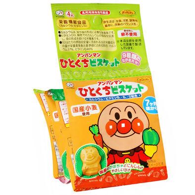 Anpanman麵包超人4連小餅乾(80g)