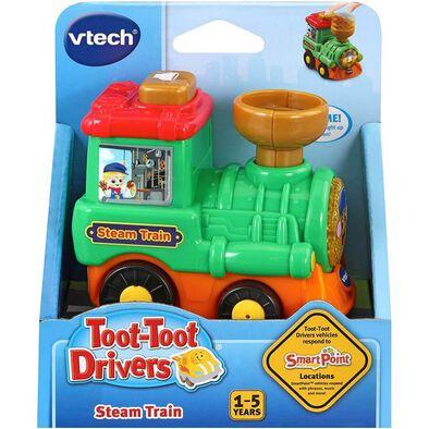 Vtech 嘟嘟聲光互動車-小火車