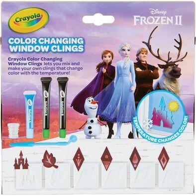 Crayola繪兒樂Disney Frozen迪士尼冰雪奇緣窗貼DIY組