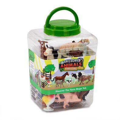 Awesome Animals 農場動物模型桶