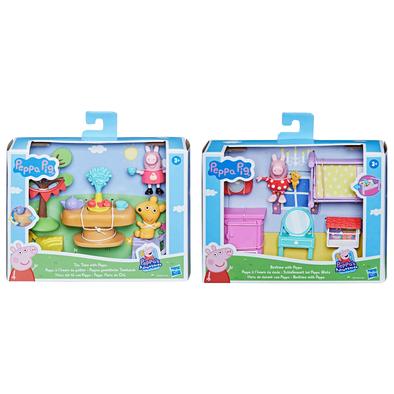 Peppa Pig粉紅豬小妹 小家具配件組- 隨機發貨