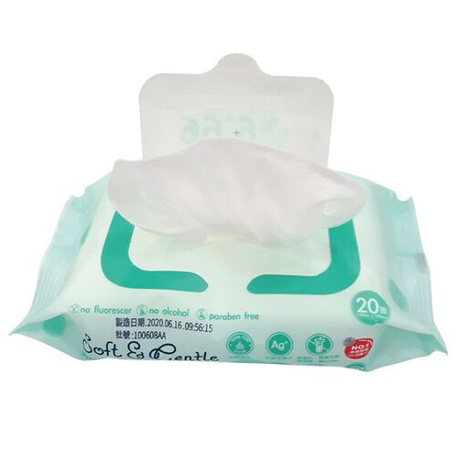 NUBY銀離子抗菌濕巾20抽