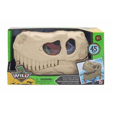 Wild Quest Dino暴龍收納盒(附恐龍模型)