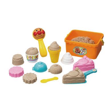 Anpanman麵包超人沙堆甜點玩具組