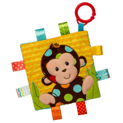 Taggies標籤動物安撫沙沙紙-點點猴