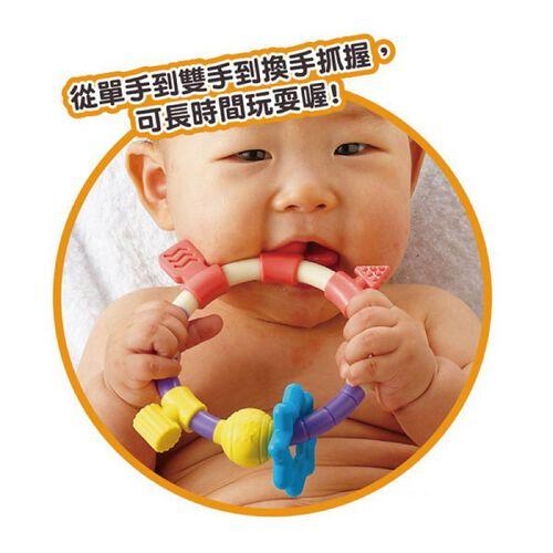 PEOPLE 米玩具 環狀手搖鈴咬舔玩具