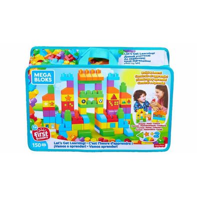 Mega Bloks美高積木150片積木學習袋