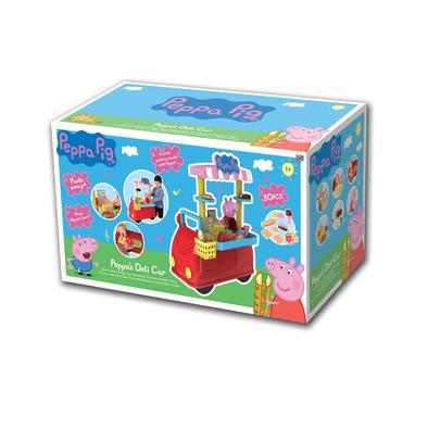 Peppa Pig粉紅豬小妹餐車遊戲組(52x 67x37)