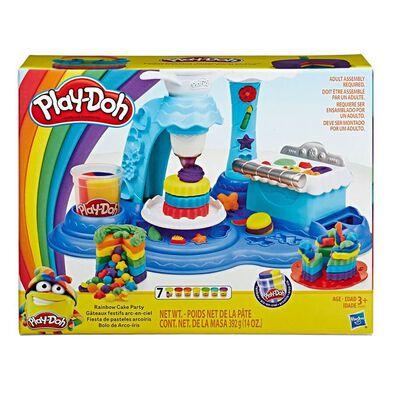 Play-Doh培樂多黏土-多色蛋糕組