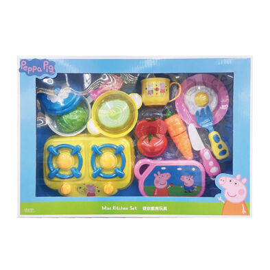 Peppa Pig粉紅豬小妹 切蔬果遊戲組 迷你廚房玩具