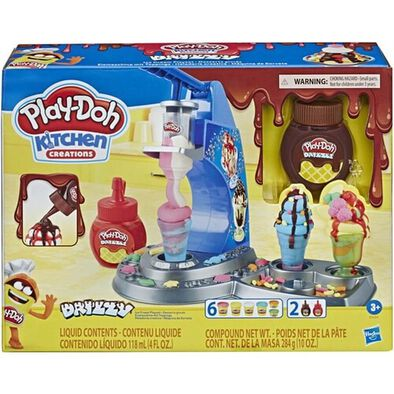 Play-Doh培樂多廚房系列 雙醬冰淇淋遊戲組