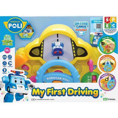 Robocar Poli波力救援小英雄 波力寶寶方向盤