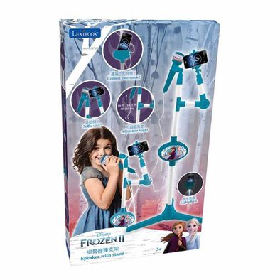Disney Frozen迪士尼冰雪奇緣玩具麥克風