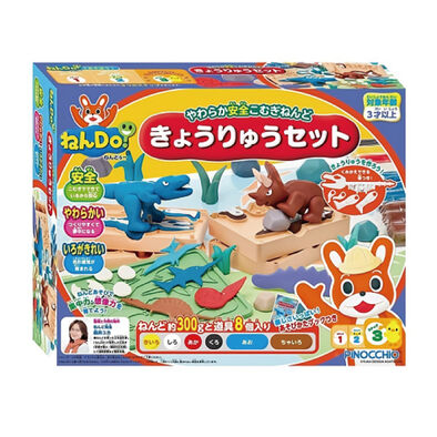 Pinocchio Agatsuma Nen-Do 黏土恐龍組