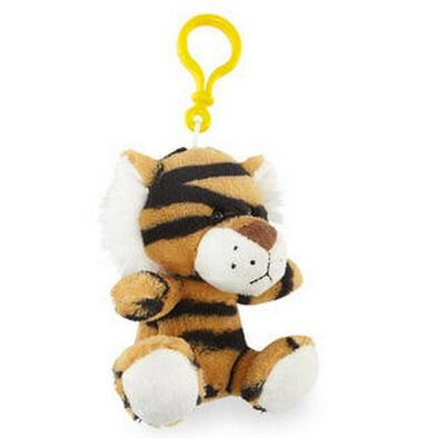 Animal Alley寵物王國 叢林動物絨毛鑰匙圈 - 隨機發貨